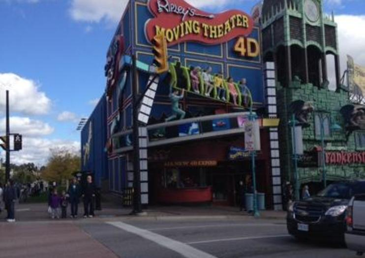 Ripley's 4D Moving Theater Niagara Falls