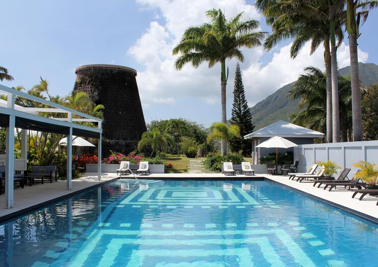 Set Within A Vast 18th Century Sugar Plantation The Historic Montpelier House Is One Of Nevis Island S Most Legendary Estates Famously Hosting Wedding