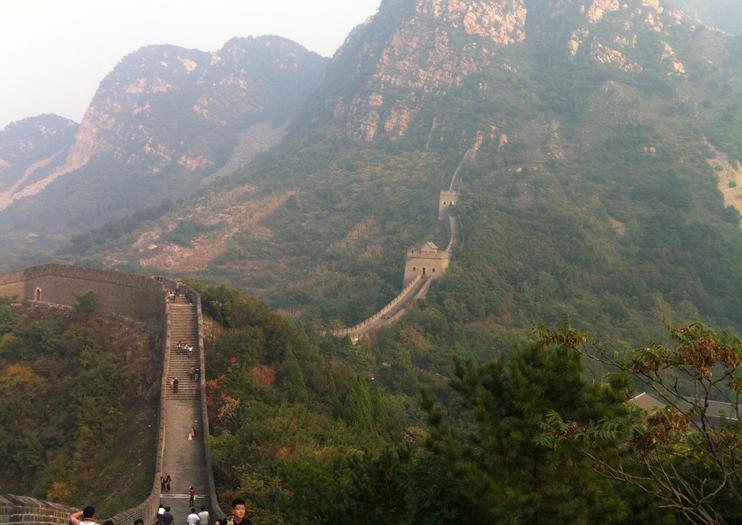 Gran Muralla en Huangyaguan