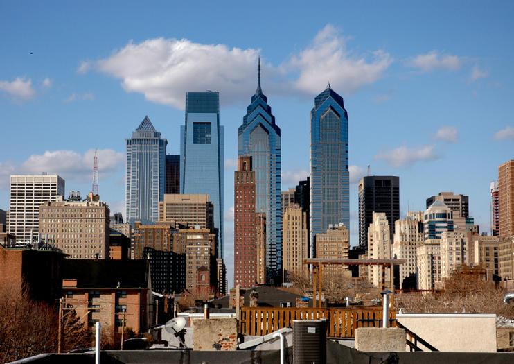 Filadélfia a partir de Nova York
