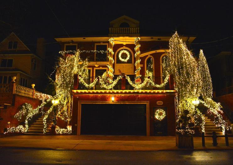 Luces navideñas de Dyker Heights