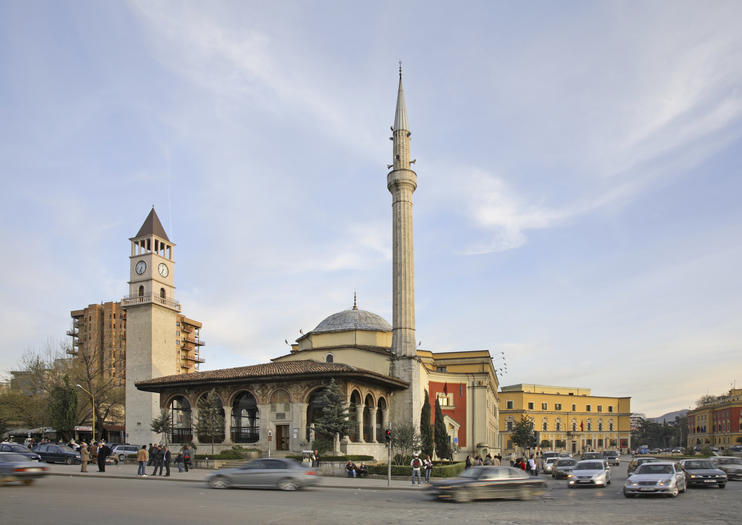 Tirana Clock Tower (Kulla e Sahatit)