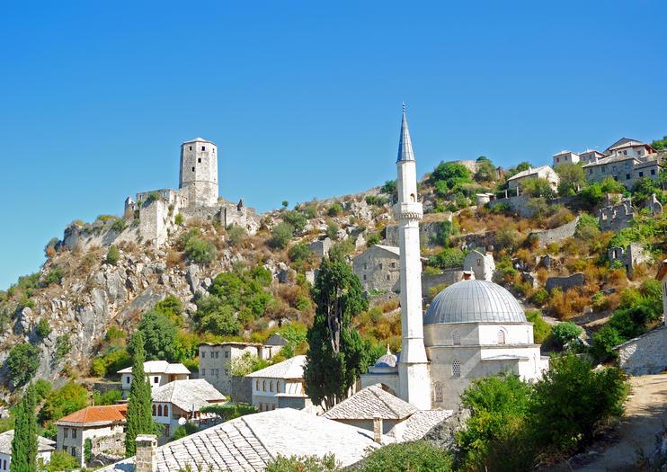 Mostar Clock Tower (Sahat Kula)