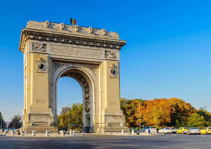 Arcul de Triumf (Arch of Triumph)