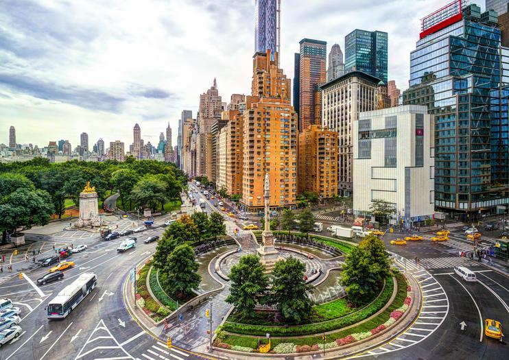 Le rond-point Columbus Circle