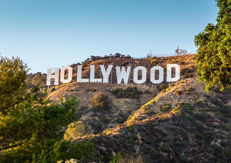 One Of La S Most Distinguishing Icons The Famous Hollywood Sign Proudly Stands On Mt Lee Mount In Hills Overlooking Los Angeles And