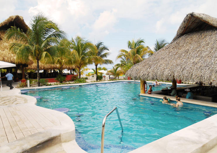 Set On A Private Stretch Of White Sand Mr Sancho S Beach Club Cozumel Allows You To Avoid The Island Beachfront Crowds And Offers Amenities For