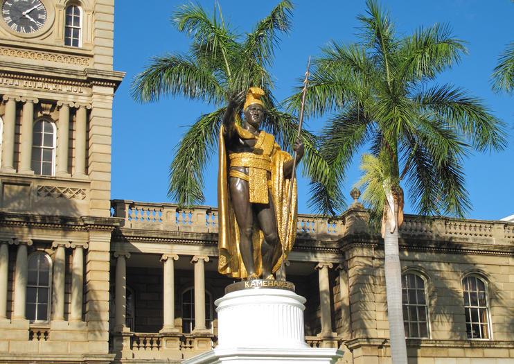 Estatua del Rey Kamehameha
