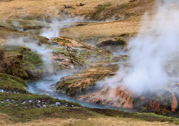 Reykjadalur Hot Spring Thermal River