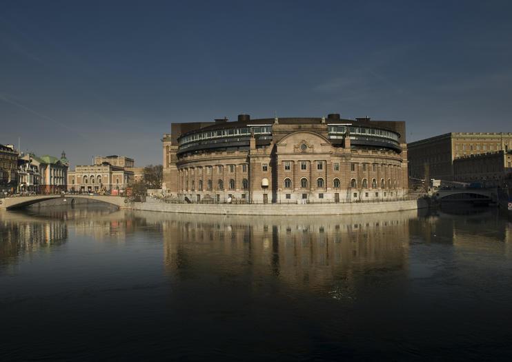 Casa do Parlamento (Riksdagshuset)