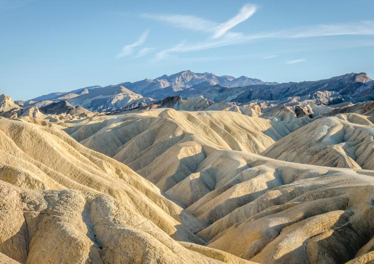 Death Valley National Park Zabriskie Point