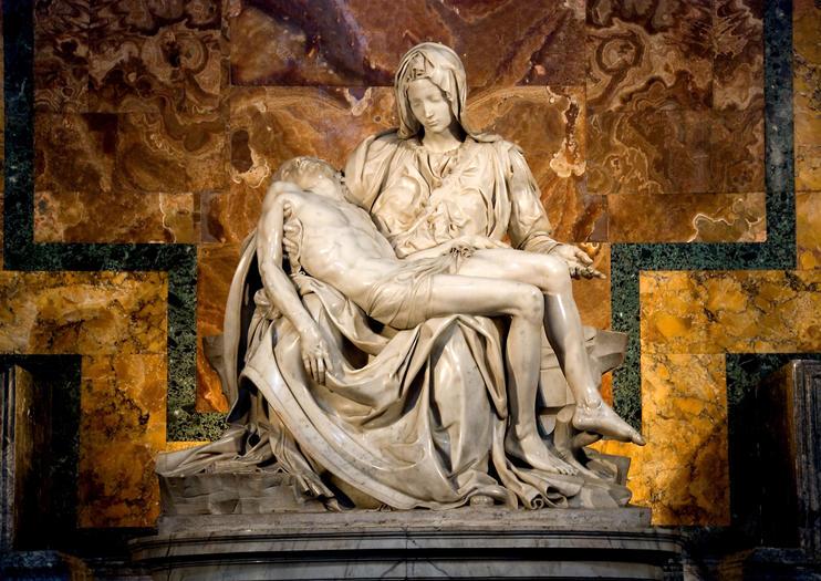 Avec Tous Les Trsors Contenus Dans Muses Du Vatican Il Est Facile Doublier Que Sy Trouve Lune Des Plus Belles Sculptures De Michel Ange
