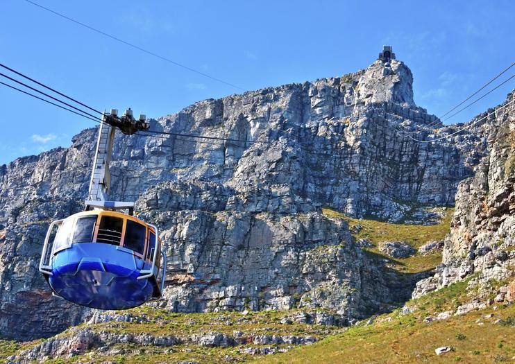 Tafelberg und Seilbahn