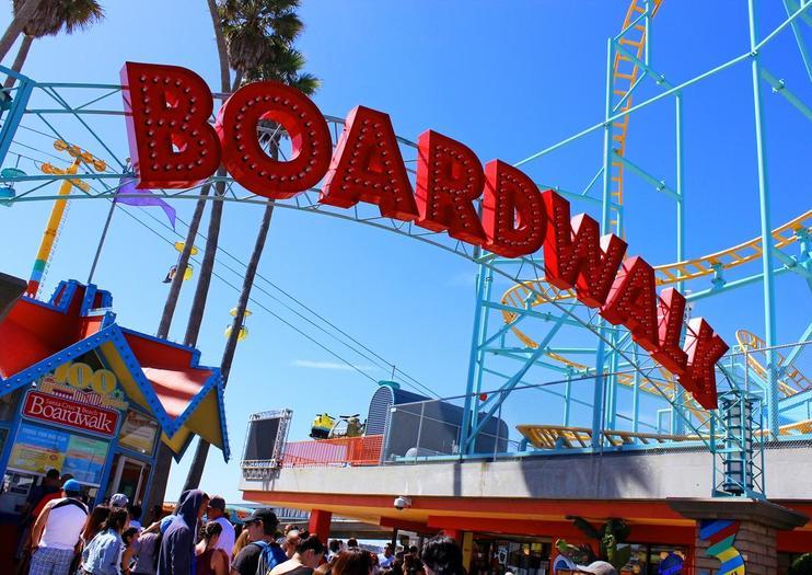 Santa Cruz Beach Boardwalk Tours