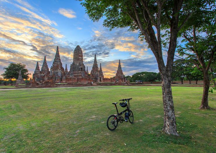 Exploring Ayutthaya By Bike