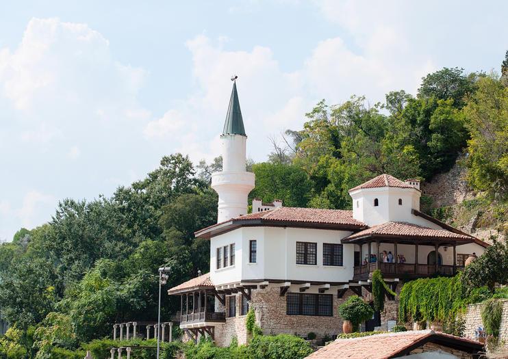 Schloss und Botanische Gärten von Baltschik