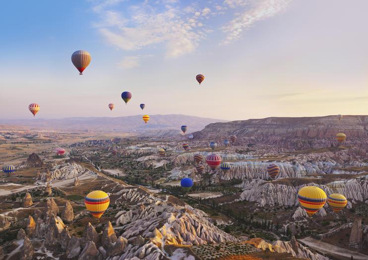 Hot-Air Balloon Rides in Cappadocia
