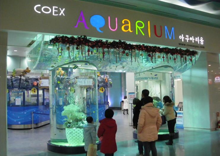 COEX(コエックス)モールとアクアリウム