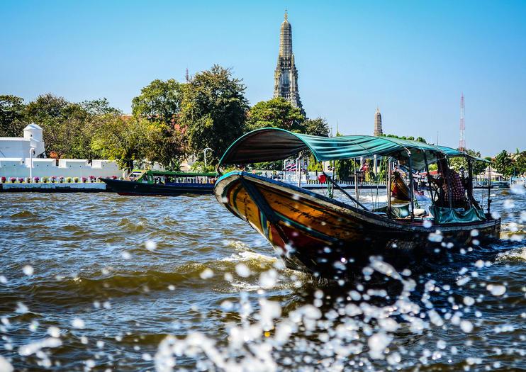 Chao Phraya Fluss (Mae Nam Chao Phraya)
