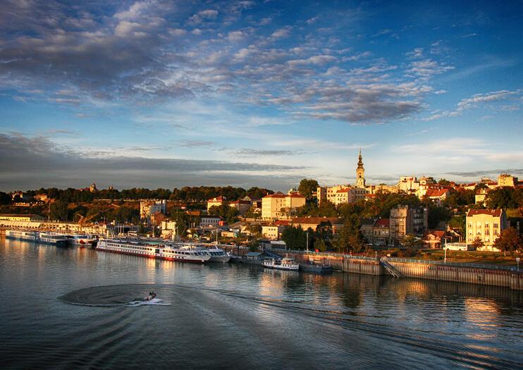 Il Danubio a Belgrado