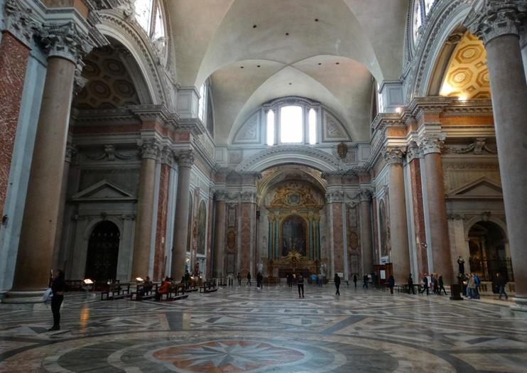 Basilica of St. Mary of the Angels and Martyrs (Basilica di Santa Maria degli Angeli e dei Martiri)
