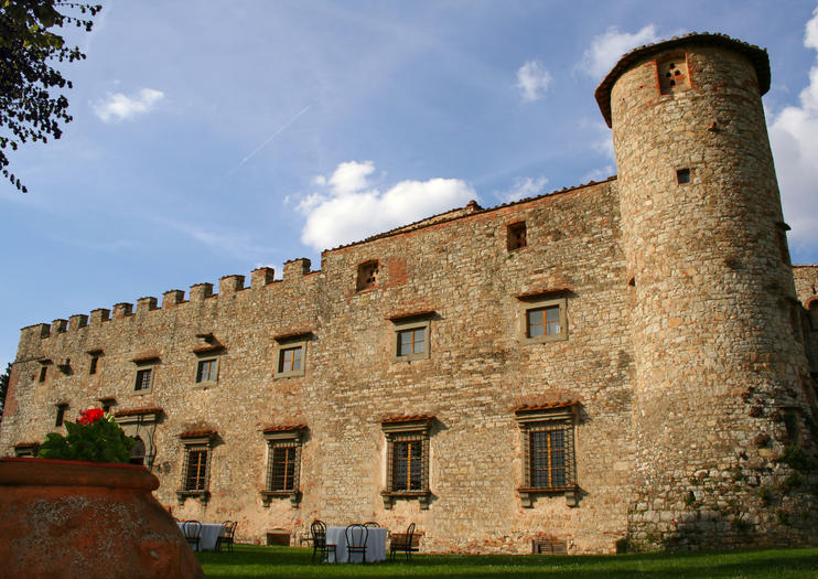 Castle of Meleto (Castello di Meleto)