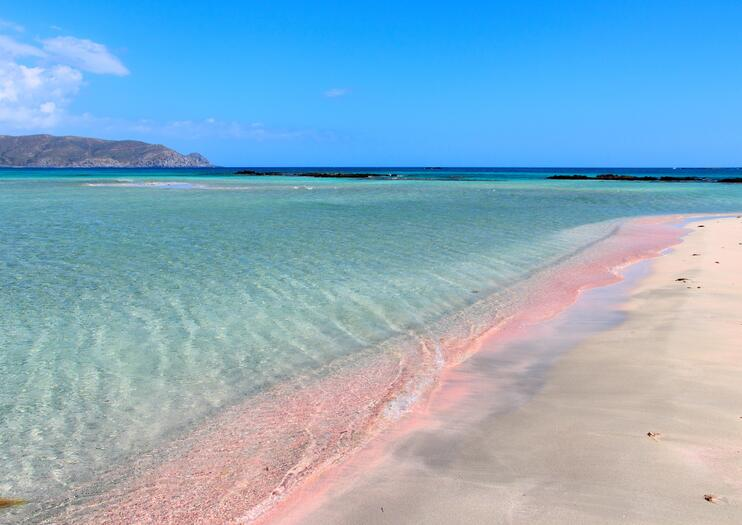 With Shallow Waters Pale Pink Tinted Sands And Sweeping Dunes Elafonisi Is Frequently Deservedly Listed Among Europe S Best Beaches