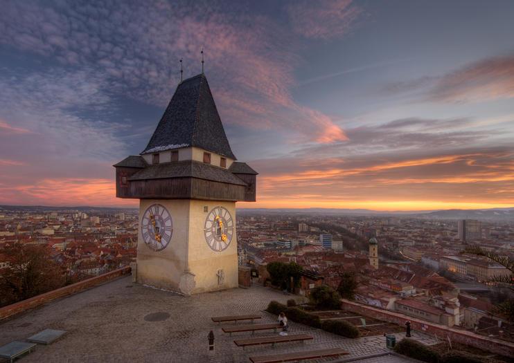 Graz Clock Tower (Grazer Uhrturm)
