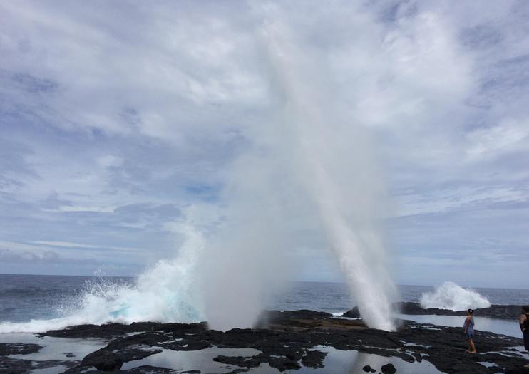 Alofaaga Blowholes (Taga Blowholes)