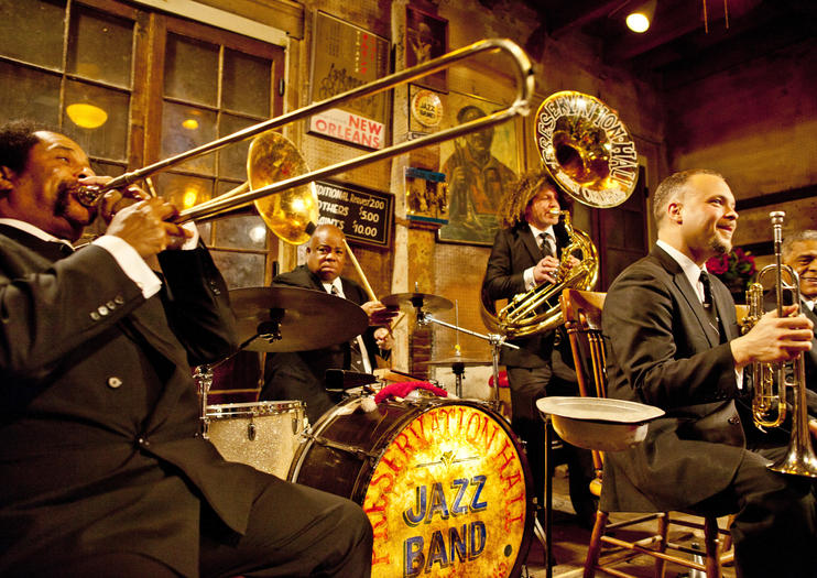 Food, Drink, and Jazz in New Orleans