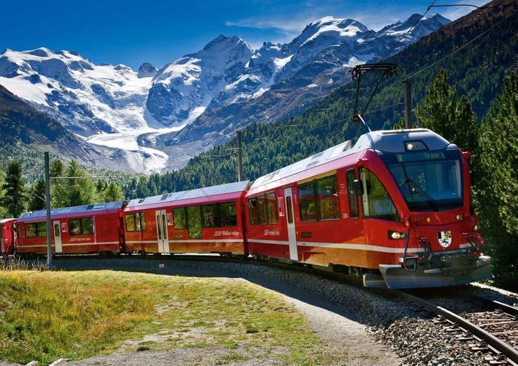 Rail Tours from St. Moritz