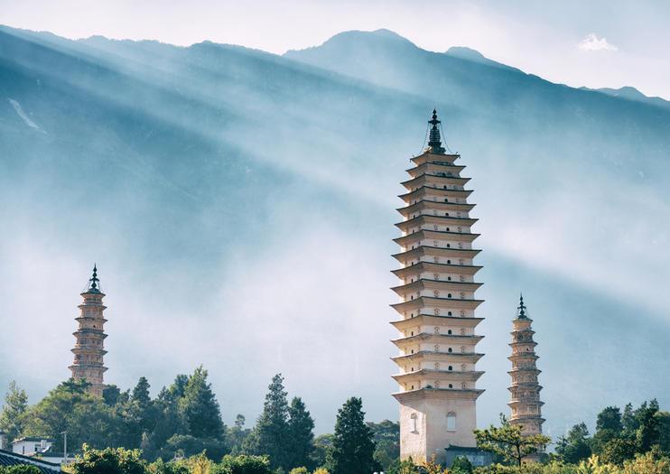 Three Pagodas of Dali
