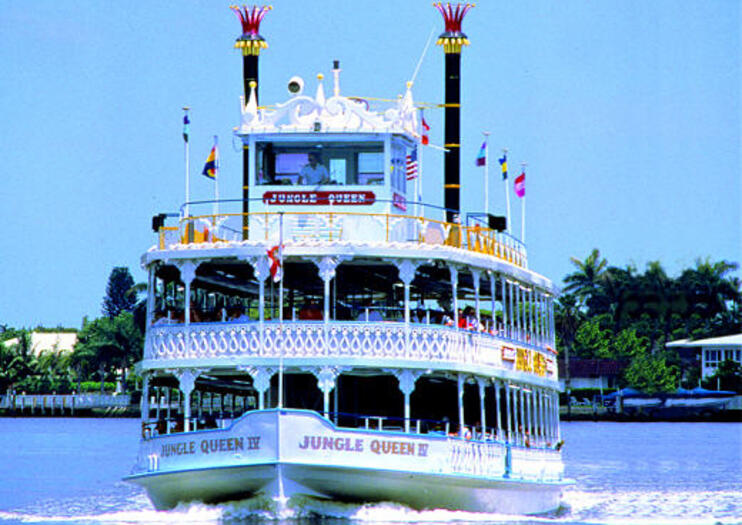 Jungle Queen Riverboat - Atracciones en Fort Lauderdale