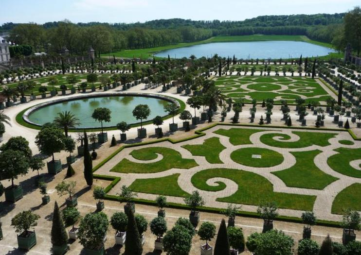 Orangerie of Versailles (l'Orangerie de Versailles)