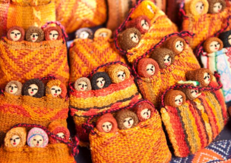 Mercado Indio Pisac - Atracciones de Cusco