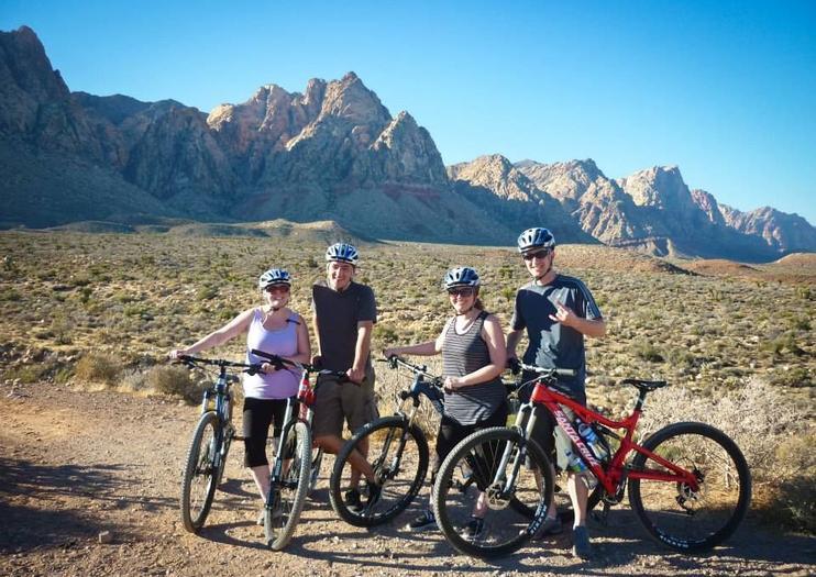 Biking in Red Rock Canyon