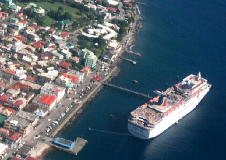 Fährhafen Roseau