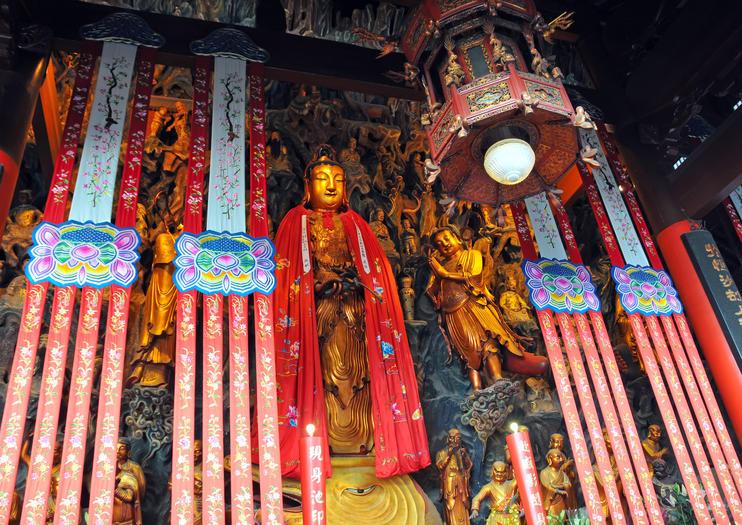 Templo de Buda Jade (Yufo Si)