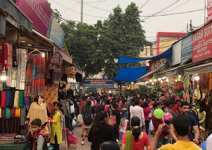 Mercado Central Lajpat Nagar