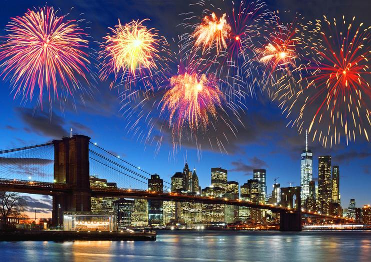 Celebraciones del Cuatro de Julio en Nueva York City