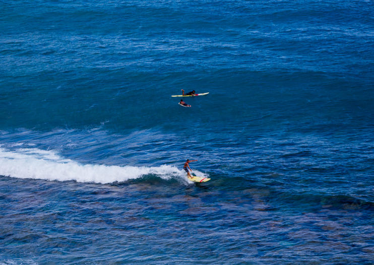 Surfing, Paddleboarding, and Kayaking on Oahu