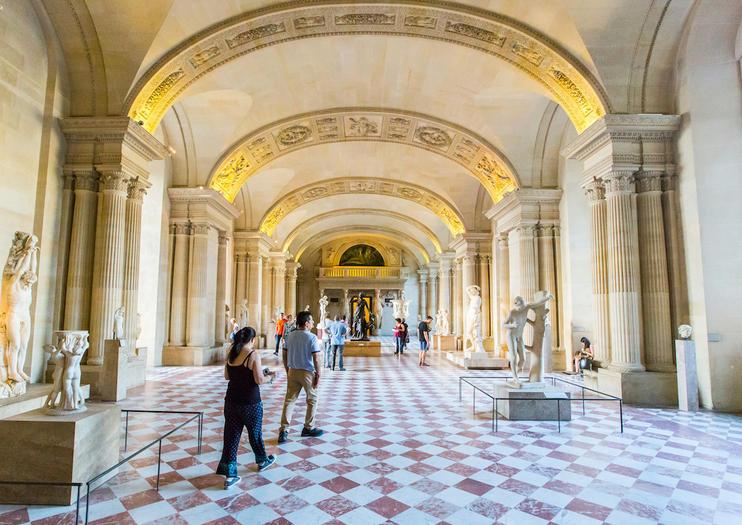 Turer der du slipper kø i Paris