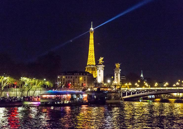 Dinner Flussfahrten auf der Seine