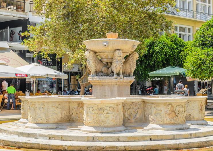 Lions Square & Morosini Fountain