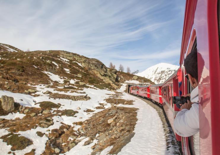 Train Journeys in the Swiss Alps
