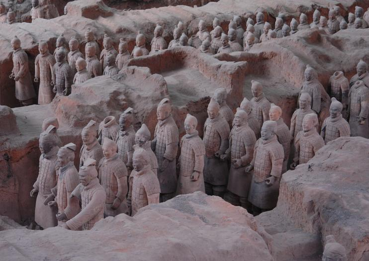 Mausoleum of the First Qin Emperor (Qin Shi Huang Tomb)