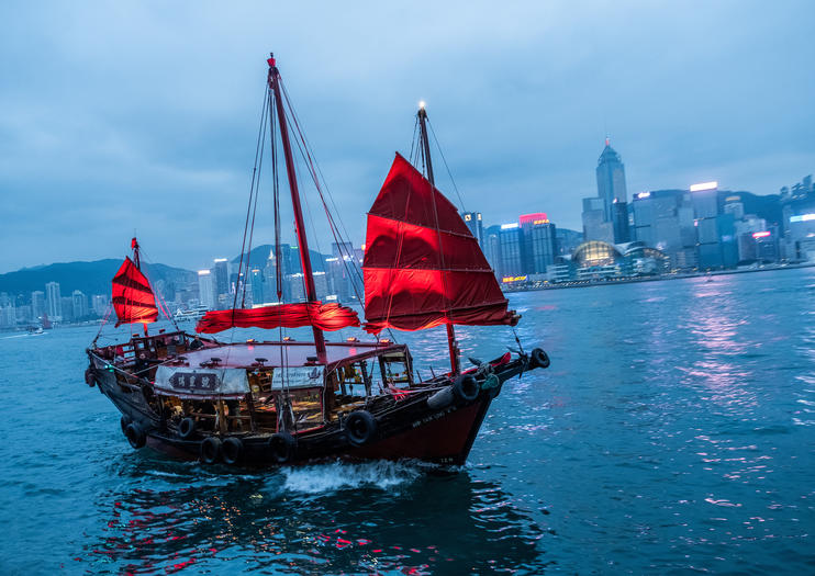 Victoria Harbour Cruises in Hong Kong