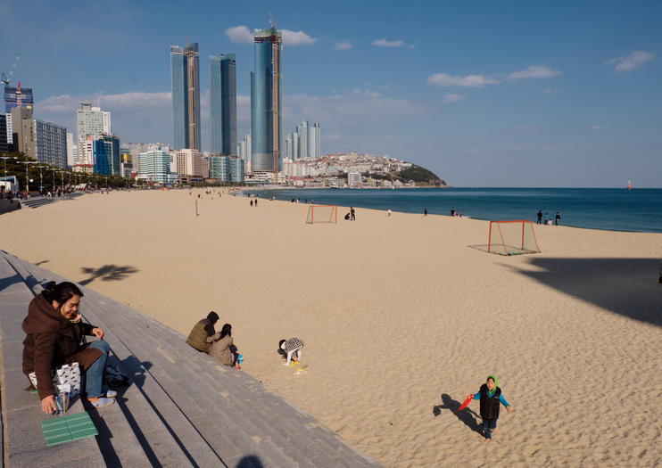 Top Beaches in Busan