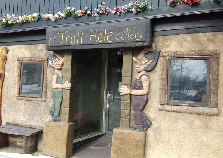 The Troll Hole Museum