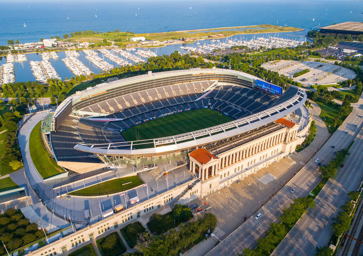 Le stade Soldier Field